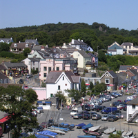 Saundersfoot Centre View