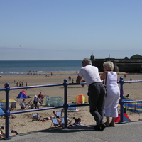 Saundersfoot Couple