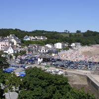 Saundersfoot Village View